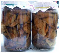 Rovellons en conserva (Níscalos)
