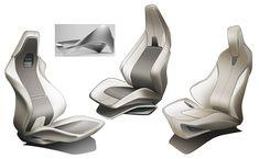Car Seat Design on Behance