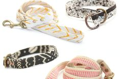 """""""22 adorable dog collars"""" - Yes, another Buzzfeed list, but some of these are perfect!"""