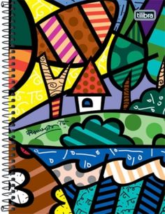 Romero Britto Graffiti Painting, Painting Prints, Oil Paintings, Popular Art, Arte Popular, Basic Sketching, Paper Architecture, Arte Country, Cottage Art