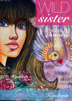 I know now that there is hope after violence. Sisters Magazine, Wild And Free, Cool Art, Awesome Art, Book Of Life, Mixed Media Art, Art Girl, Drawings, Draw