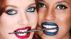 ClioMakeUp-rossetto-blu-look-come-indossarlo-abbinamenti-star-celebrity-brand-icona-pop-mufe