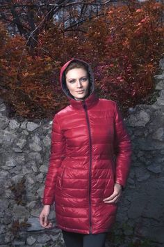 Piumino #TotalRed Seguici su www.lindas.it #giubotto #giubotti #donna #lindas #inverno #autunno #piumini #outfit #capispalla #jackets #girl #women #fashion