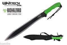 "NEW Big 25"" Heavy Weight Zombie Hunter Full Tang machete On ebay today for $31.49"