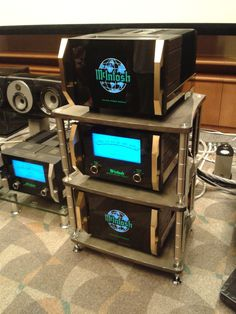 BASSOCONTINUO Reference Line model ACCORDEON XL4 with McIntosh MC 2KW available at Audio Visual Solutions Group 9340 W. Sahara Avenue, Suite 100, Las Vegas, NV 89117. The only McIntosh/Sonus Faber Platinum Dealer in Las Vegas, Nevada.