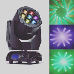 LiteLEES Big Eye L5 RGBW 4in1!#showofthelight #chauvetprofessional #djlighting #lightingdesigner #brightnessblog #lightdesing #stagedesign #thecreativechurch