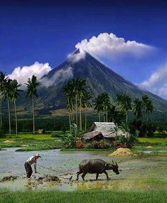 Mayon Volcano, Albay, Philippines #Filipinotattoos