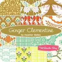 Ginger Clementine Fat Quarter BundleHeather Bailey for Free Spirit Fabrics