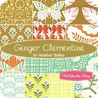 Ginger Clementine Fat Quarter Bundle<BR>Heather Bailey for Free Spirit Fabrics