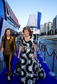 HRH Princess Margriet of the Netherlands attends at the gala dinner of the International Chamber of Shipping (ICS) in Rotterdam on 09.06.2015