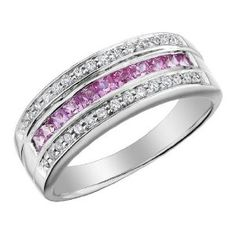 pink sapphire ring- but I want blue saphires