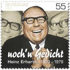 Heinz Erhardt (* 20. Februar 1909 in Riga; † 5. Juni 1979 in Hamburg-Wellingsbüttel) war ein deutsch-baltischer Komiker, Musiker, Komponist, Unterhaltungskünstler, Kabarettist, Schauspieler und Dichter.