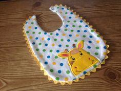 Babero babero del bebé jirafa niño babero Bib Bib chica
