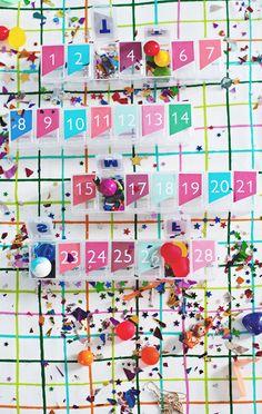 Pill Box Advent Calendar