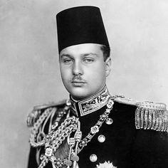 H.M. King Farouk I of Egypt (1920-1965)