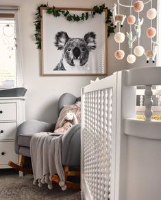In The Meantime Here Is A Pic Of Beautiful Nursery Featuring Our Premium Koala Ty Georgia Cot