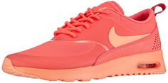 Nike Air Max Thea, Damen Sneakers, Orange (HOT LAVA/SUNSET GLOW 801), 38 EU - http://on-line-kaufen.de/nike/38-eu-nike-air-max-thea-damen-sneakers