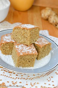 Flourless Jamaican toto (coconut cake - pronounced toe toe) gluten free and paleo friendly. Jamaican Desserts, Jamaican Cuisine, Jamaican Dishes, Jamaican Recipes, Jamaican Toto Recipe, Guyanese Recipes, Sin Gluten, Saltfish And Ackee, Jamaica Food