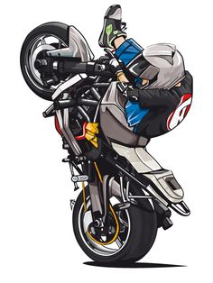 Motorcycle Stunt Names; The Big List. Sticker Auto, Stunt Bike, Moto E, Motorcycle Art, Bike Art, Car Drawings, Super Bikes, Ducati, Yamaha Fz
