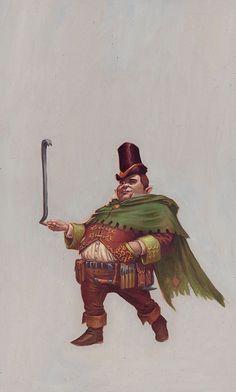 Halfling Thief by RalphHorsley.deviantart.com on @DeviantArt