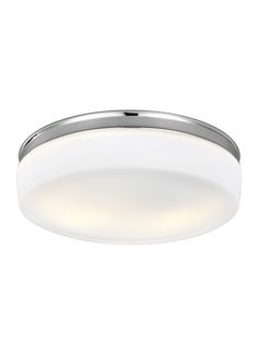 0-023088>Issen 2-Light Flush Mount Chrome