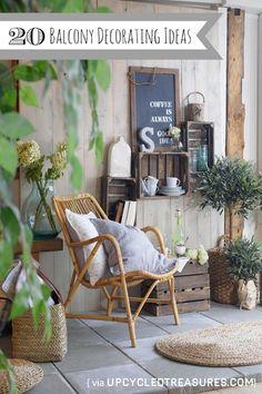 Balcony Decorating Ideas