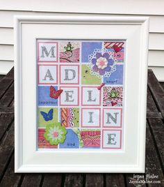 Baby Girl Daydream Custom-Designed {What's in a Frame} by Jayma Malme