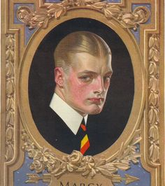 From the collection of Tony Peters. Joseph, Jc Leyendecker, Head Anatomy, Arrow Shirts, World Of Darkness, Illustrations, Pictures To Paint, Dandy, Vintage Advertisements