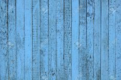 Painted blue Wood