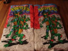 Two Teenage Mutant Ninja Turtle Sleeping Bags