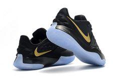 Men's Nike Kyrie 4 Lows Black Metallic Gold Shoes-5 Kyrie Irving Shoes, Metallic Gold Shoes, James Shoes, Nike Kyrie, Ten, Lebron James, Nike Men, Nike Shoes, Sneakers Nike