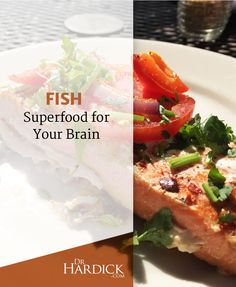 In addition to heart-healthy properties, and high protein, learn why fish may be a valuable brain food as well, particularly for the aging brain. Be Natural, Natural Health, Health And Nutrition, Health And Wellness, Fish Benefits, Brain Health, Heart Health, True Health, Food Dishes