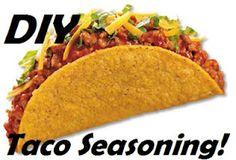 DIY taco seasoning- cheap