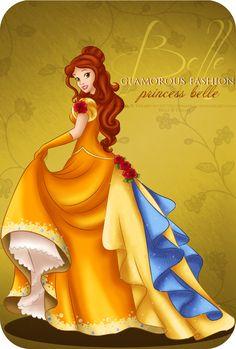 Glamorous Fashion - Belle by selinmarsou on DeviantArt