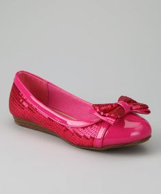 Take a look at this Fuchsia Cassidy Ballet Flat by Dotty Shoes on #zulily today!