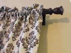 a little of this, a little of that: PVC Pipe Curtain Rods PART 2