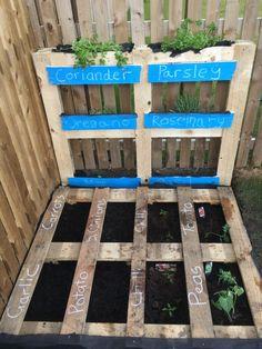 Pallet Veg and Herbs Patch - Easy Garden Fixes