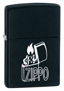 Zippo lighter now available from Zippo UK now only £17.50 Black Matte. Packaged in an environmentally friendly gift box. Lifetime Guarantee.