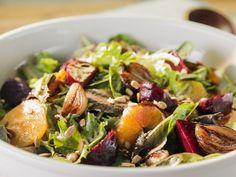 Roasted Beet Salad recipe from Trisha Yearwood via Food Network