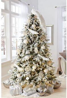 Choinka cała w bieli - super trend na Boże Narodzenie 2015 - Strona 10