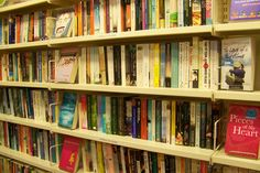Our lovely fiction shelves!