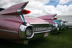 The finest car ever built. 1959 Cadillac DeVille... Look at those fins.
