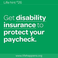 Do I need Disability Insurance? Get disability insurance to protect your paychec… Do I need Disability Insurance? Get disability insurance to protect your paycheck. Cheap Term Life Insurance, Health Insurance Cost, Life Insurance Quotes, Insurance Benefits, Disability Insurance, Car Insurance Rates, Insurance Meme, Insurance Agency, Income Protection