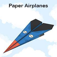 printable paper airplanes