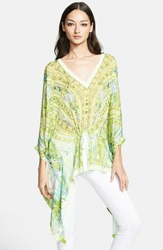 Roberto Cavalli Silk Caftan available at #Nordstrom