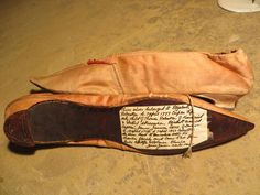 1790s Pink Silk Shoes | eBay