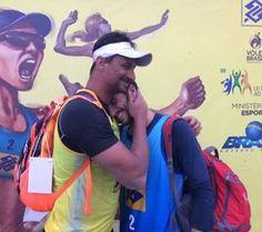 Blog Esportivo do Suíço:  Veterano Ricardo vence o próprio filho no Circuito Brasileiro de vôlei de praia