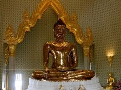 Check this #Golden #Buddha #Temple which was rediscovered inadvertently about 40 years ago.