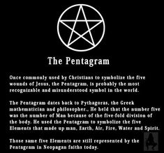 "The Pentagram. There you have it. No more questions about my ""satanic tattoo""..."