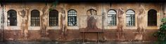 The Classical Street Art of Borondo street art Rome murals
